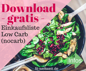 Low Carb Liste Download Frauen