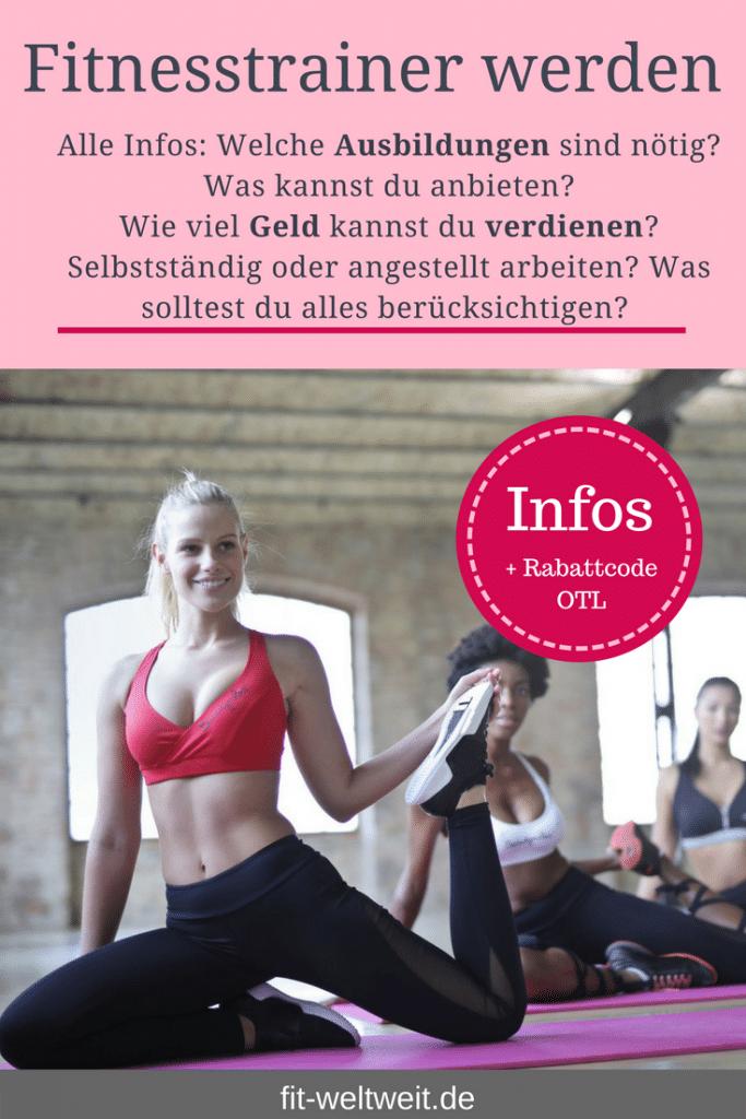 Ausbildung als Fitnesstrainer. Genügt eine Fitnesstrainer B Lizenz?Möchtest du #Fitnesstrainer oder Fitnesstrainerin werden und überlegst, ob es sich lohnt? Welche ##Ausbildungen sind am sinnvollsten und mit welchem Gehalt kannst du rechnen? Ich bin seit mehreren Jahren #Fitnesstrainerin und Ernährungsberaterin und gebe dir sehr ausführlich meine Erfahrungen wieder. #Ausbildung in#Berlin oder online.