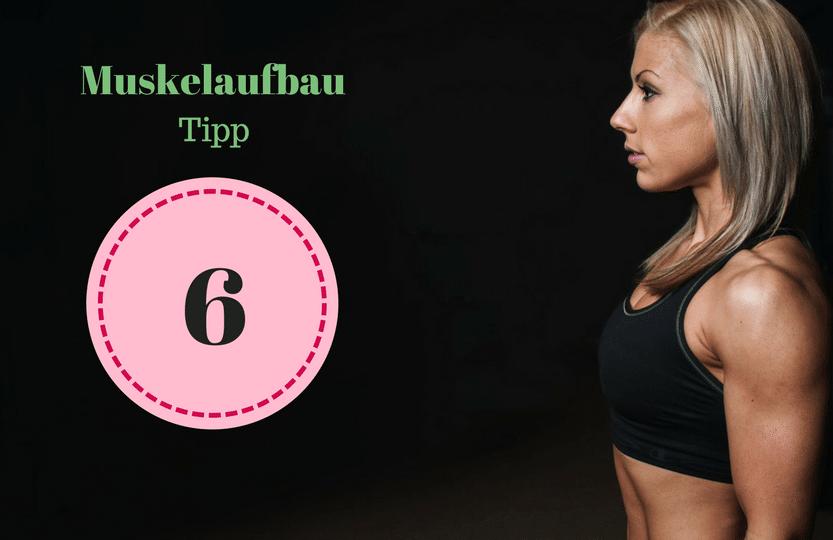 Tipp 6 Muskelwachstum. Um als #Frau Muskeln aufbauen zu können solltest du einige Tipps beachten. Mit diesen 12 Tipps, die dein Training und das Essen betreffen, kannst du zuhause auch als Anfänger richtig Muskeln aufbauen. Zusätzlich habe ich für dich einen #Muskelaufbau #Trainingsplan (speziell für Frauen) mit effektiven HIIT Übungen. Natürlich gelten die Tipps auch für Fitnessstudio Gänger. Die Tipps betreffen den gesamten Körper (Bauch, Beine, Brust, Po, Arme und Rücken).