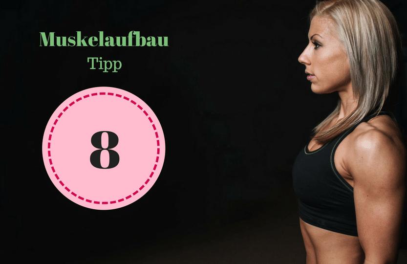 Tipp 8 Muskelwachstum. Um als #Frau Muskeln aufbauen zu können solltest du einige Tipps beachten. Mit diesen 12 Tipps, die dein Training und das Essen betreffen, kannst du zuhause auch als Anfänger richtig Muskeln aufbauen. Zusätzlich habe ich für dich einen #Muskelaufbau #Trainingsplan (speziell für Frauen) mit effektiven HIIT Übungen. Natürlich gelten die Tipps auch für Fitnessstudio Gänger. Die Tipps betreffen den gesamten Körper (Bauch, Beine, Brust, Po, Arme und Rücken).