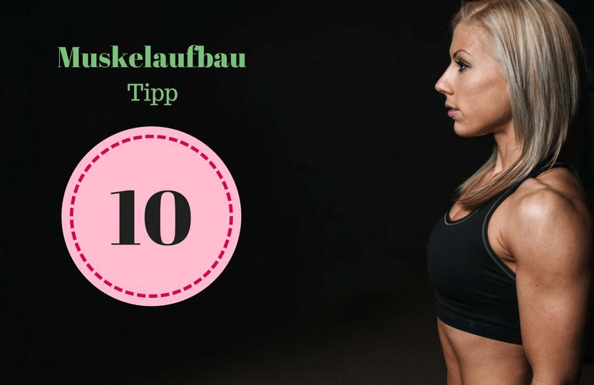 Muskelaufbau Tipp 10 #Ziele erreichen: Um als #Frau Muskeln aufbauen zu können solltest du einige Tipps beachten. Mit diesen 12 Tipps, die dein Training und das Essen betreffen, kannst du zuhause auch als Anfänger richtig Muskeln aufbauen. Zusätzlich habe ich für dich einen #Muskelaufbau #Trainingsplan (speziell für Frauen) mit effektiven HIIT Übungen. Natürlich gelten die Tipps auch für Fitnessstudio Gänger. Die Tipps betreffen den gesamten Körper (Bauch, Beine, Brust, Po, Arme und Rücken).