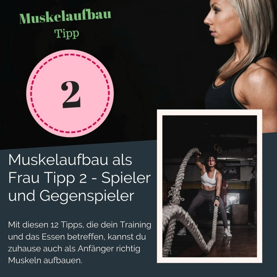 Um als #Frau Muskeln aufbauen zu können solltest du einige Tipps beachten. Mit diesen 12 Tipps, die dein Training und das Essen betreffen, kannst du zuhause auch als Anfänger richtig Muskeln aufbauen. Zusätzlich habe ich für dich einen #Muskelaufbau #Trainingsplan (speziell für Frauen) mit effektiven HIIT Übungen. Natürlich gelten die Tipps auch für Fitnessstudio Gänger. Die Tipps betreffen den gesamten Körper (Bauch, Beine, Brust, Po, Arme und Rücken).