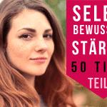 Selbstbewusstsein stärken Tipps YouTube Video