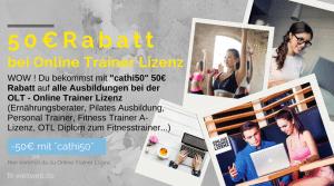 Online Trainer Lizenz Rabatt Gutschein: Ausbildung als Fitnesstrainer. Genügt eine Fitnesstrainer B Lizenz?Möchtest du #Fitnesstrainer oder Fitnesstrainerin werden und überlegst, ob es sich lohnt? Welche ##Ausbildungen sind am sinnvollsten und mit welchem Gehalt kannst du rechnen? Ich bin seit mehreren Jahren #Fitnesstrainerin und Ernährungsberaterin und gebe dir sehr ausführlich meine Erfahrungen wieder. #Ausbildung in#Berlin oder online.