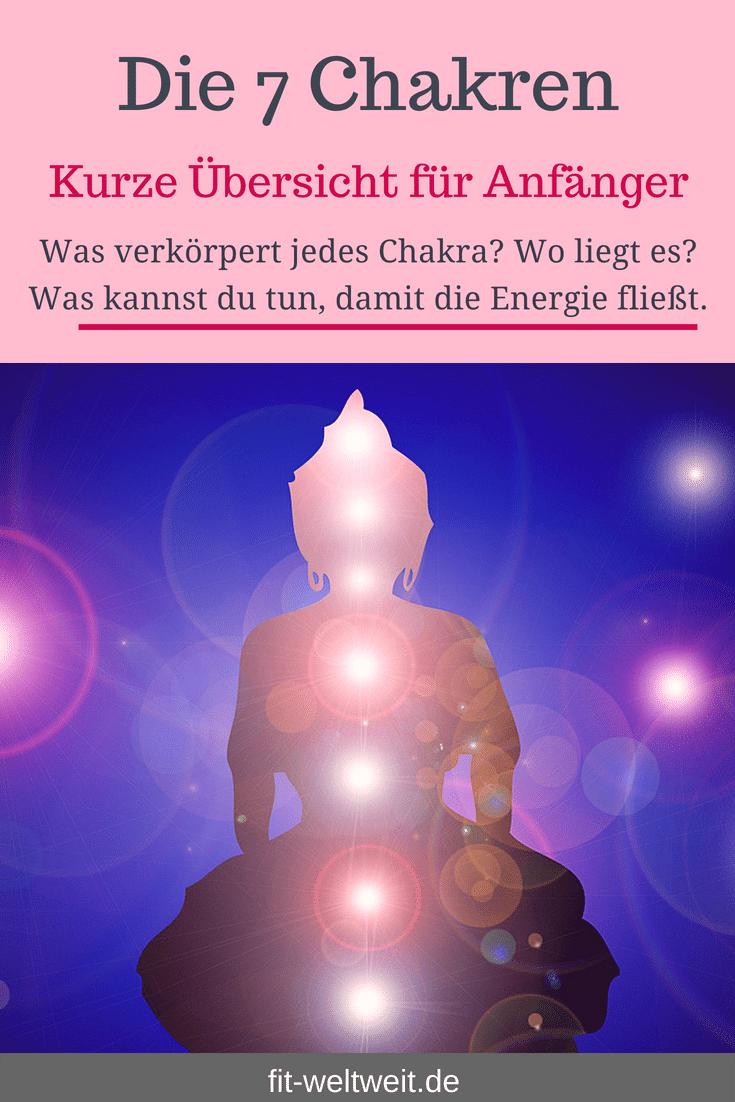 #Bedeutung #Wirkung #Chakras Ich habe für dich die 7 #Chakren für #Anfänger zusammengefasst. Wenn, die Energie in unseren sieben Chakren blockiert wird, kann es oft zu Krankheit führen. Daher ist es wichtig zu verstehen, was jedes Chakra verkörpert und was wir tun können, um diese Energie wieder frei fließen zu lassen. 7 Chakras für Anfänger Ich gebe dir hier eine kurze Zusammenfassung.