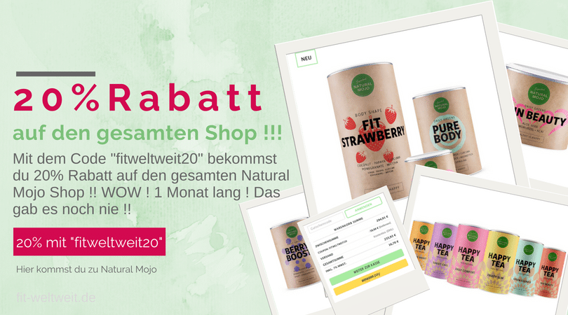 Natural Mojo Code 2019 Rabatt Gutschein: Daily Greens Fit ...
