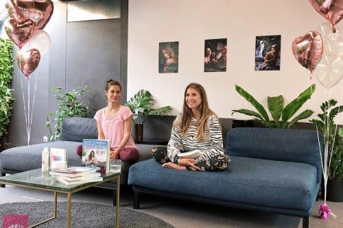 Yogini Flora Fink und Cathy Hummels - Stark mit Yoga Buchvorstellung