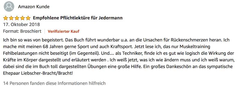Liebscher Bracht Deutschland hat Rücken Buch