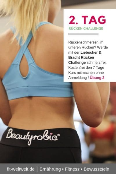 #RÜCKENSCHMERZEN #UNTERER #RÜCKEN #ÜBUNGEN Rückenschmerzen im unteren Rücken? Werde mit der Liebscher & Bracht Rücken Challenge schmerzfrei. Kostenfrei den 7 Tage Kurs mitmachen ohne Anmeldung ! Übung 2