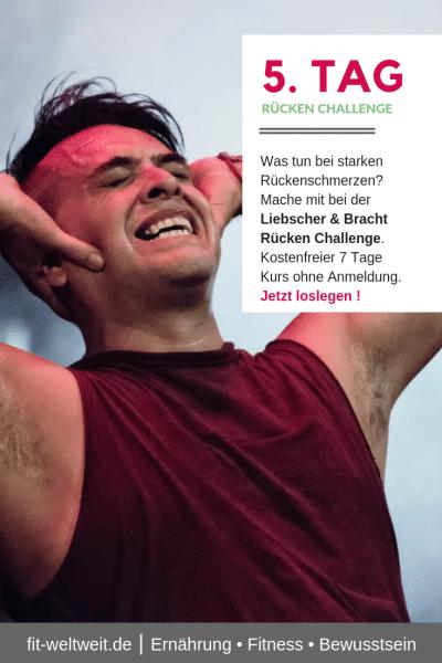 #STARKE #RÜCKENSCHMERZEN WAS TUN? #ÜBUNGEN Was kannst du tun bei starken Rückenschmerzen? Mache mit bei der Liebscher & Bracht Rücken Challenge. Kostenfreier 7 Tage Kurs ohne Anmeldung ! 7 Übungen für Schmerzen im oberen, mittleren und unteren Rücken. Jetzt loslegen ! Video ansehen #liebscherbracht