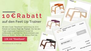 Feet Up Trainer Gutschein 10€ Rabatt Code
