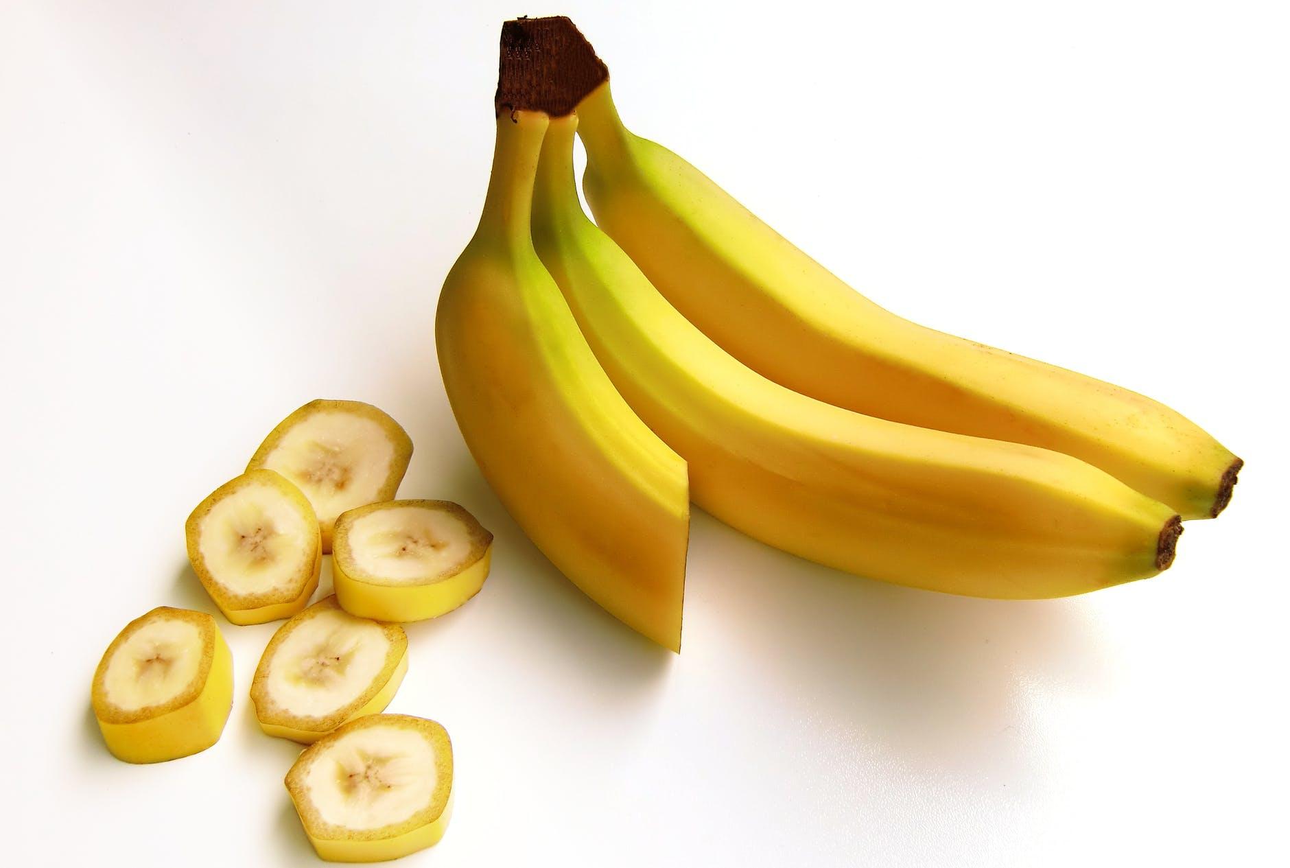 Reeta mit Banane abzunehmen