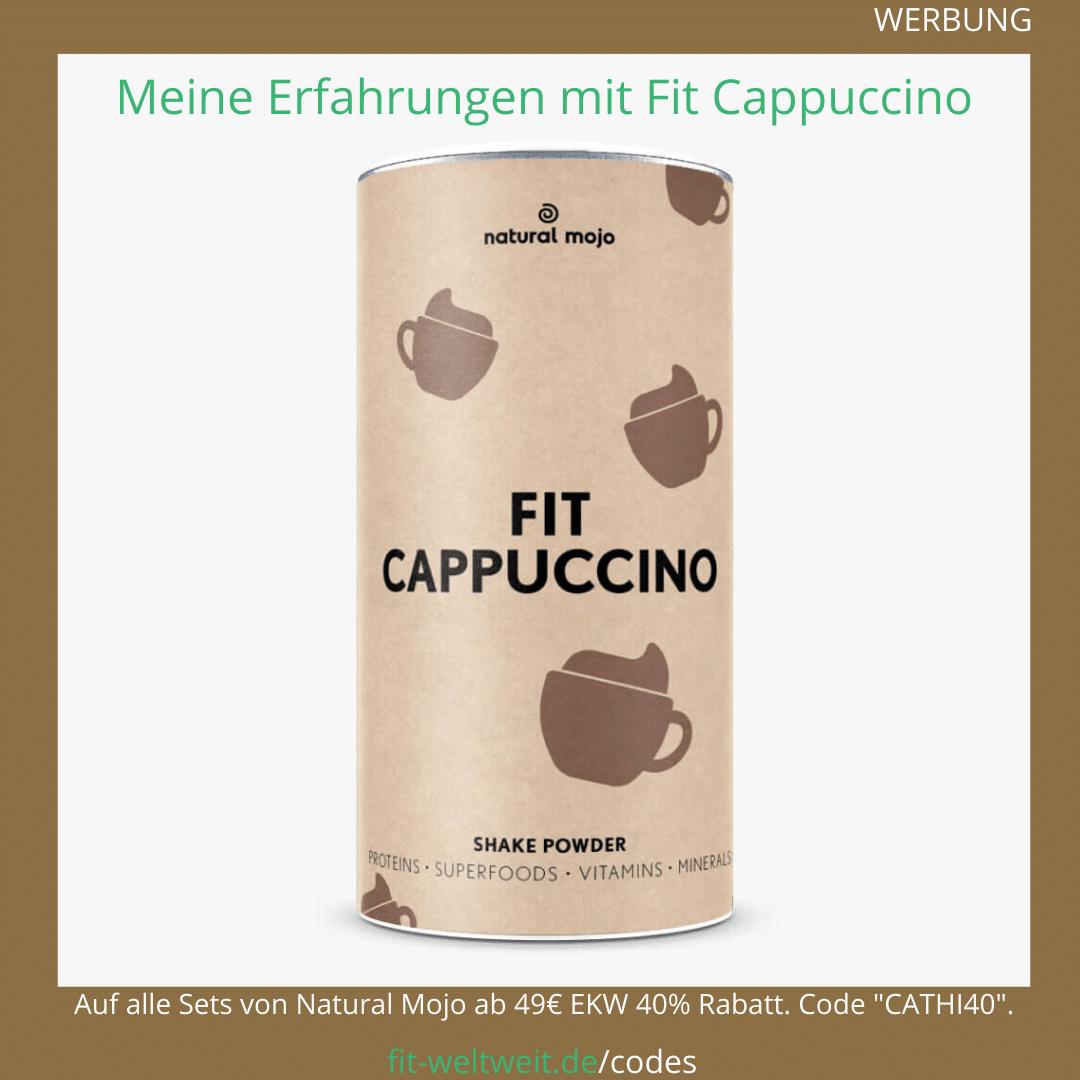 Fit Cappuccino Natural Mojo Rezepte Erfahrungen