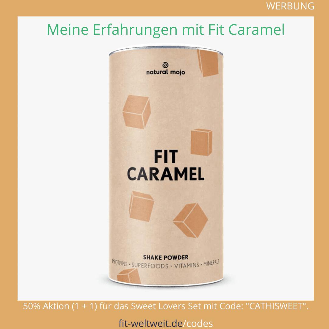 Fit Caramel Natural Mojo Erfahrungen Rezepte