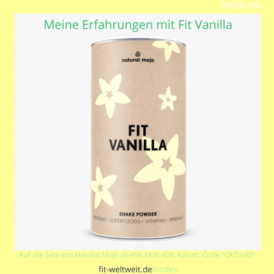 Fit Vanilla NAtural Mojo Rezepte Erfahrungen