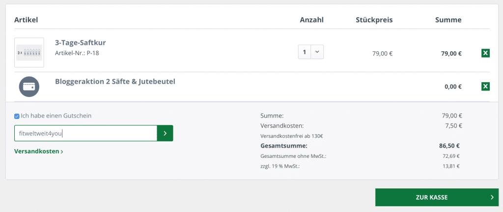 "Kale and me Rabattcode gratis Säfte Mit dem Code ""fitweltweit4you"" bekommst du 2 gratis Säfte von Kale and me (Werbung)"