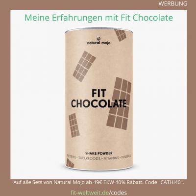 Natural Mojo Fit Chocolate Erfahrungen Kalorien Rezepte Zubereitung