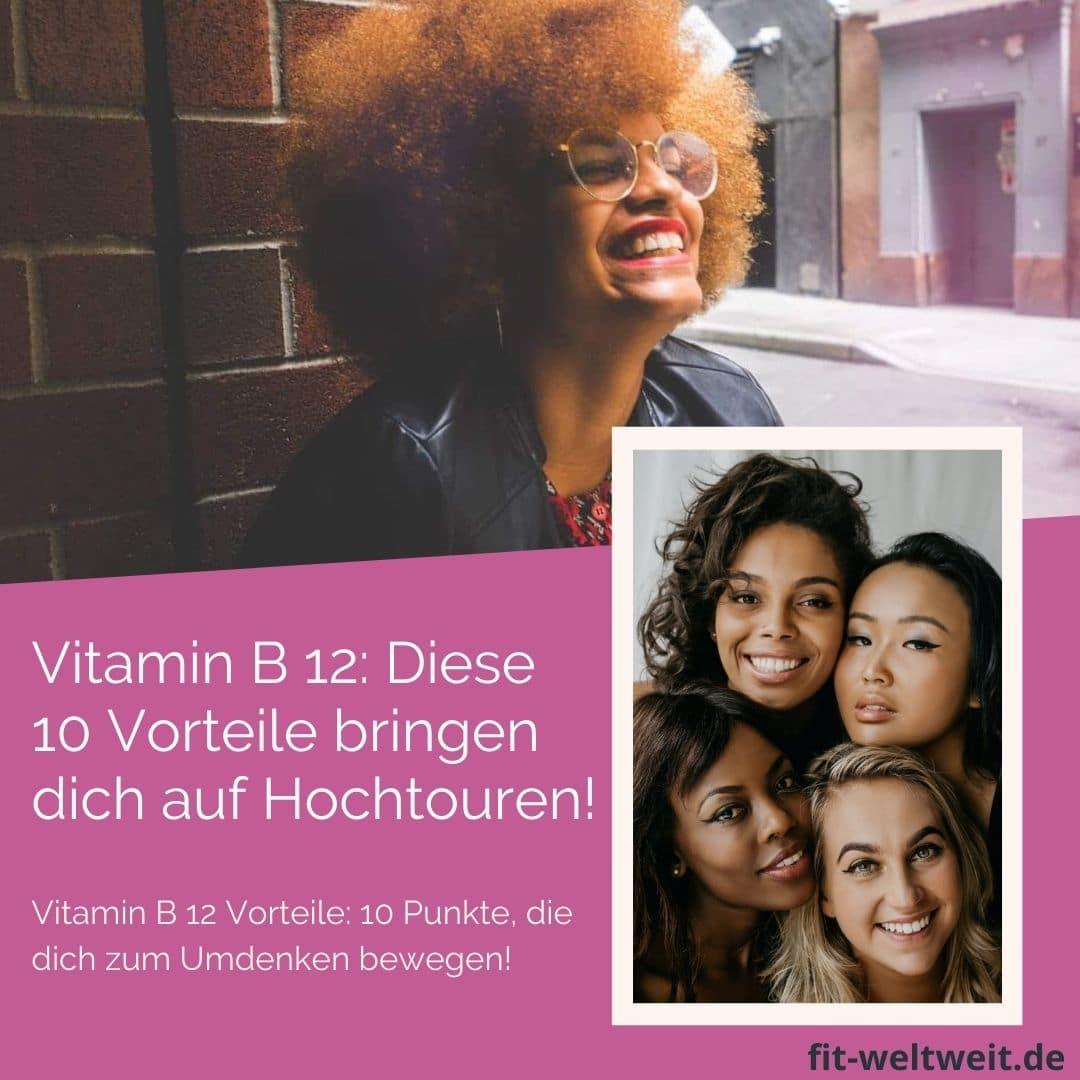 VITAMIN B12 WIRKUNG VORTEILE TAGESBEDARF