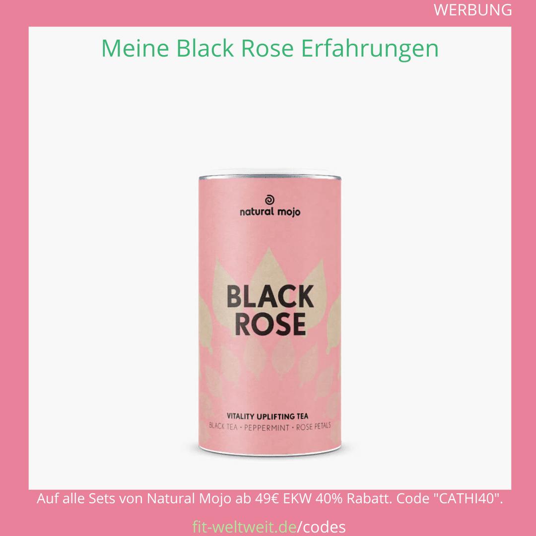 black rose tea natural mojo Tee Rabatt Code