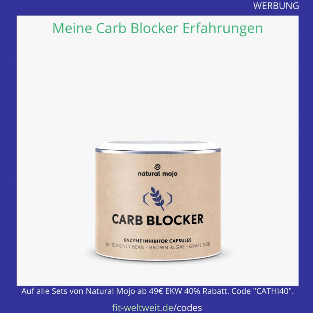 carb blocker wirkung test Erfahrung Natural Mojo