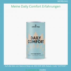daily comfort natural mojo erfahrungen tee