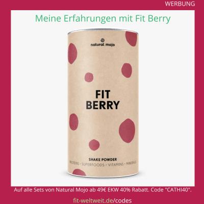 fit berry natural mojo Erfahrung Rezepte Zubereitung