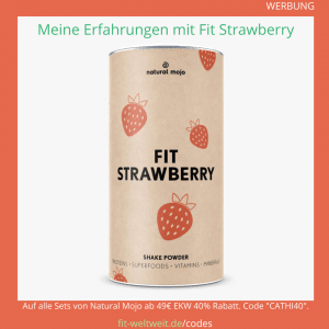fit strawberry natural mojo erfahrung