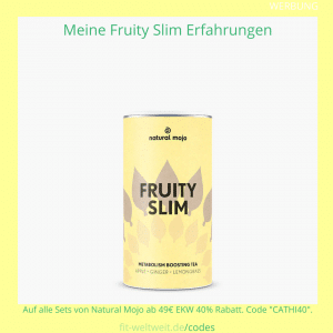 fruity slim tea natural mojo erfahrungen tee