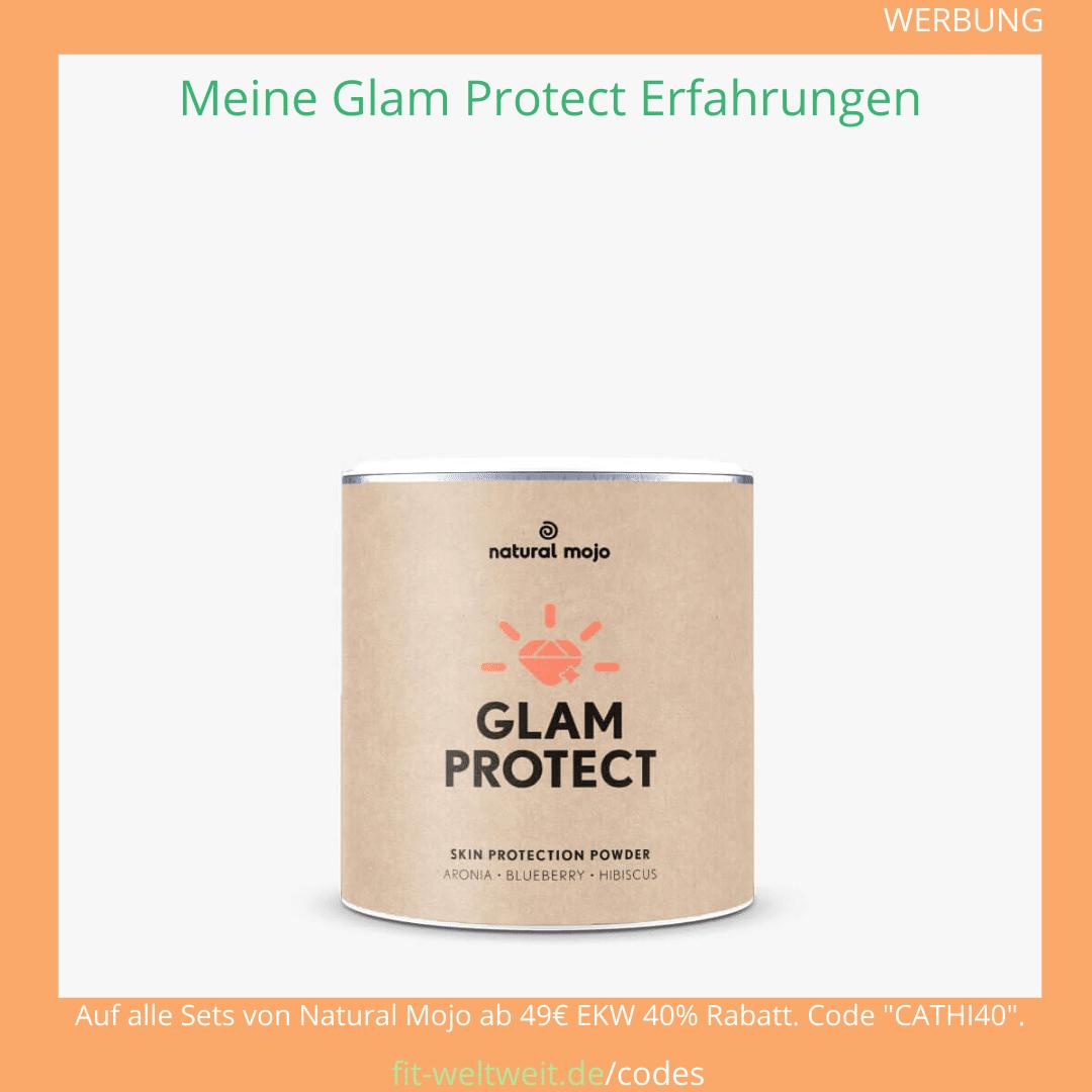 glam protect natural mojo Erfahrungen Gutschein Code