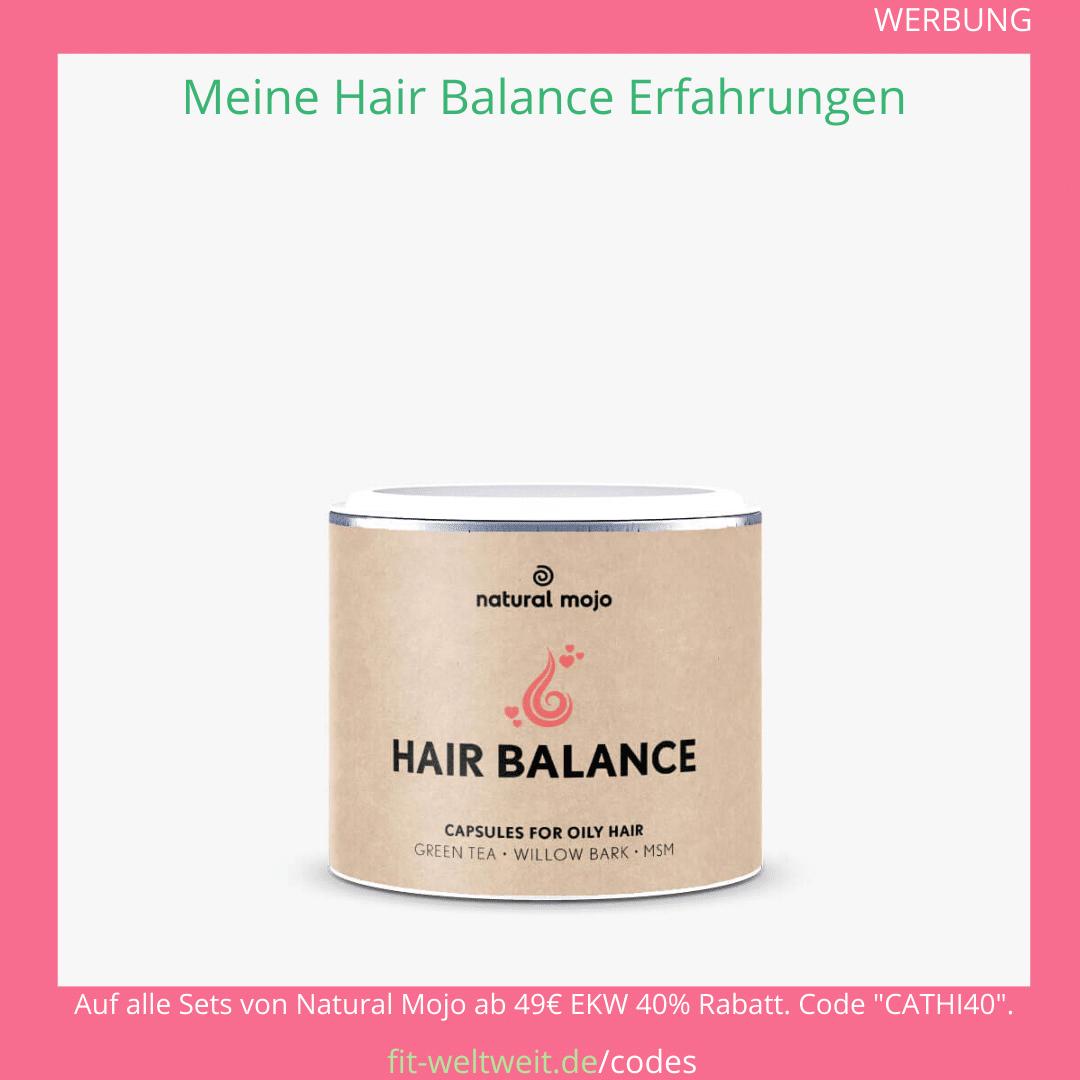 hair balance kapseln natural mojo Erfahrungen
