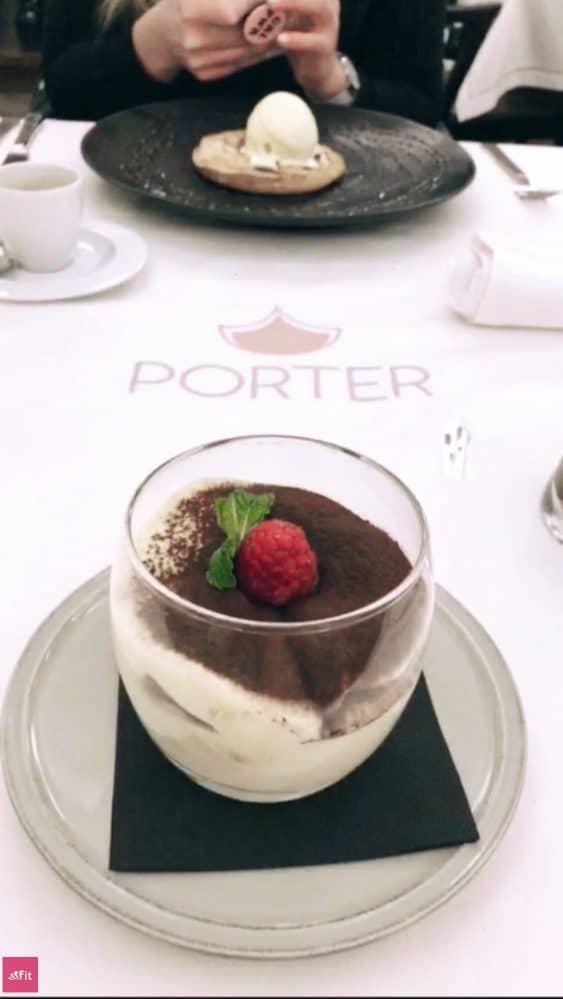 Restaurant Porter Lissabon Creme Brulee Tiramisu
