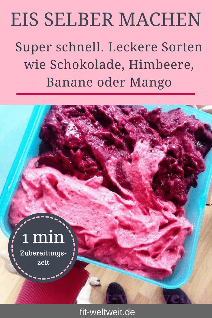 Erdbeereis #Eis #selbermachen #Rezepte #zuckerfrei #Rezepte #lowcarb Eis selber machen ohne Eismaschine. Eis selber machen ohne Zucker oder Eis selber machen mit wenigen #Zutaten in 3 Minuten? Schokoladeneis, Bananeneis, Himbeereis. Einfache Rezepte #Grundrezepte, um Eis selber zu machen. Leckeres und gesundes #Eis minutenschnell und für jede #Diät geeignet. So kannst du gesund #naschen. #Eismaschine #DIY #sorbet #Sommerfest #Sommer #Grillparty #Grillabend #Dessert #Nachtisch #Thermomix