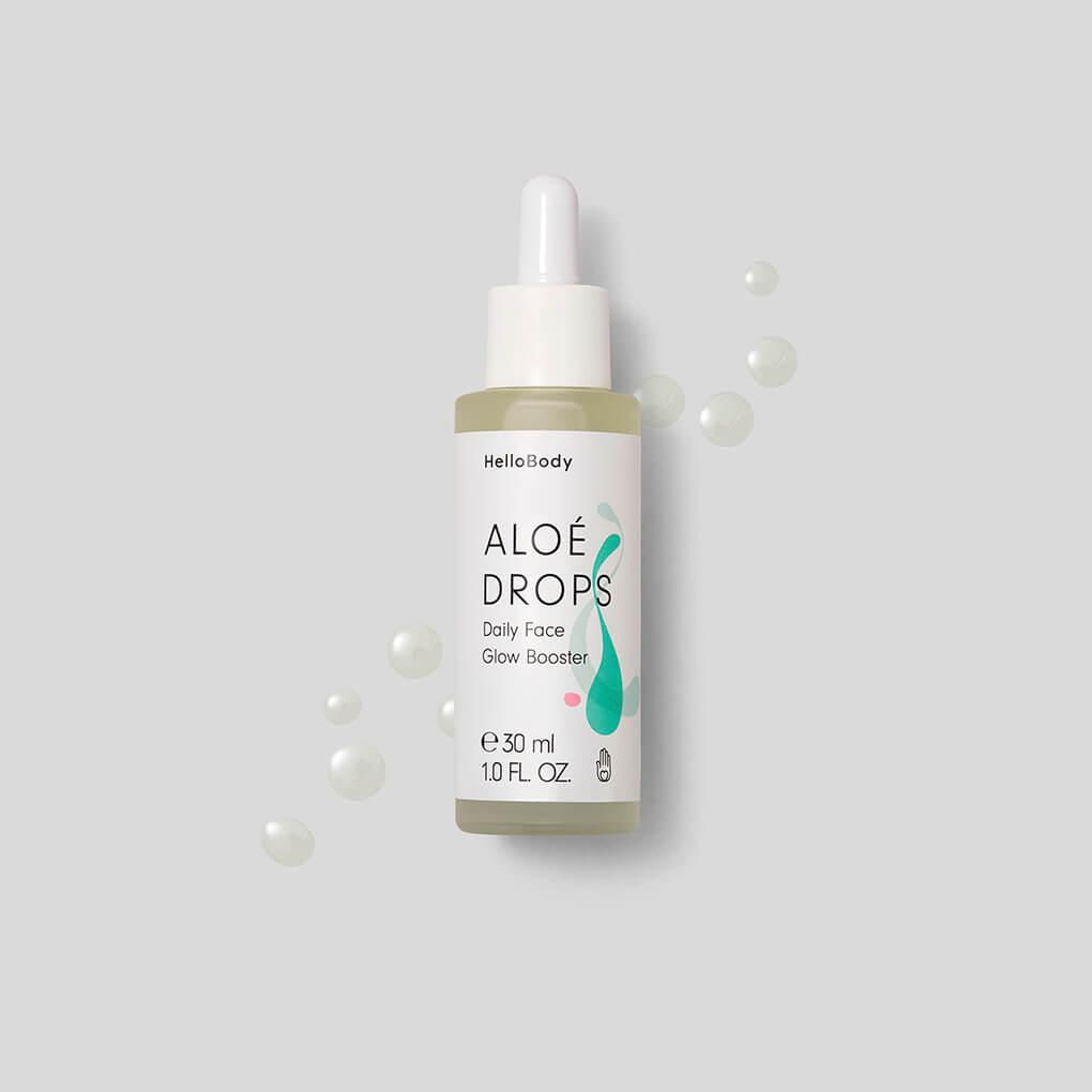 """#Haut #Hautpflege #HelloBody #Gesicht Hello Body ALOÉ DROPS Daily Face Glow Booster(Werbung) sprechen, wie du sie anwendest und wie sie wirken. Die Inhaltsstoffe haben ja extrem wirkungsvolle Eigenschaften, besonders wenn du mit sehr trockener Haut, Narben, Altersflecken oder anderen Hautproblemen zu kämpfen hast, die deine Haut müde und fahl aussehen lassen. So sieht auch dein #MAKEUP wieder frisch und gleichmäßig aus. (30% Rabatt auf alle Hello Body Sets mit dem Code """"cathiset"""")"""