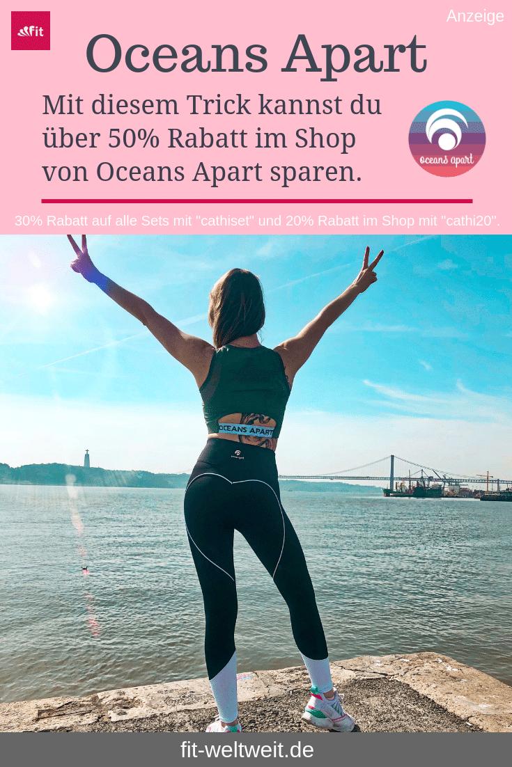 """OCEANS APART ERFAHRUNGEN + GUTSCHEIN #OceansApart #vegan #veganwear #Leggings #fairfashion #yoga Vegane Active Wear - Funktionskleidung. #Nachhaltig produziert, faire Handelsbedingungen. #Gutschein 2019: Auf den gesamten Shop20 % #Rabatt mit dem Gutscheincode """"cathi20"""". 50% Rabatt ggü. UVP im Outlet. 30 % Rabattauf alle Oceans Apart Sets mit #Gutscheincode """"cathiset"""". Zu jeder Bestellung ab 80,00€ mit """"cathimoon"""" eine Moonlight Pants im Wert von 89,00€ gratis dazu ! (Werbung) #Yoga #Crossfit"""