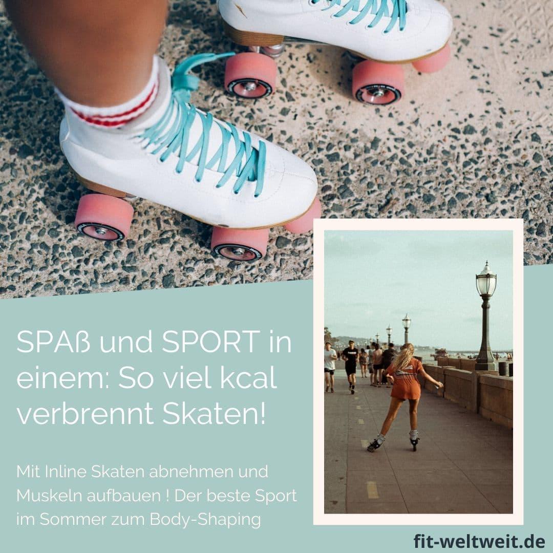 Sport Inline Skaten abnehmen kacal Muskeln aufbauen ! Der beste Sport im Sommer zum Body-Shaping