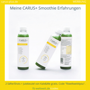 Carus Plus Smoothie Kale and Me Erfahrungen Bewertung