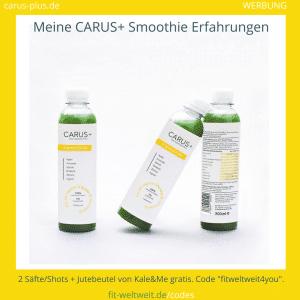 Carus Plus Smoothie Kale and Me Erfahrungen Bewertung