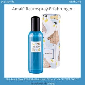 Amalfi Ava & May Raumspray Erfahrungen