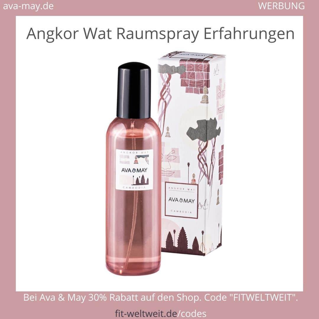 Angkor Wat Ava & May Raumspray Erfahrungen