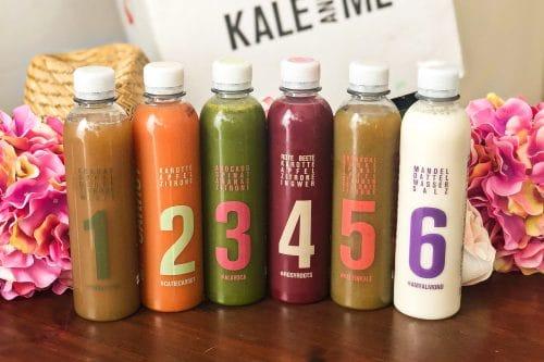 #Saftkur 3 Tage #Erfahrung vorher nachher, Saftkur selber machen oder Saftkur #kaufen? 3 Safttage mit der Saftkur von Kale & Me (Werbung)Wie lief die Saftkur? Mein gesamter Alltag der 3 Tage mit Terminen und Events. Wird man von der Saftkur satt? Kann man mit der Saftkur abnehmen? Was ist drin? Saftkur Rezepte. Was kann man während einer Saftkur essen? Wie fühlt man sich bei der Saftkur? Saftkur vorbereiten (Entlastungstage, Entschlackung und danach) + 2 gratis Säfte bei Kale & Me …siehe Blog!