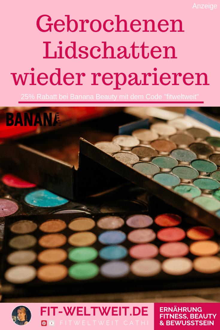 #LIDSCHATTEN #REPARIEREN #BANANABEAUTY #EYESHADOW #IDEEN #Beautyblog So kannst du einen kaputten Lidschatten wieder reparieren, gebrocheneren Lidschatten reparieren mit dieser einfachen Methode. Meine #Erfahrung mit den 4 Eyeshadow Paletten von Banana Beauty(Werbung) und meine #Erfahrungen der 32 Lidschatten Farben. Wenn dir der Lidschatten runterfällt und kaputt geht, was das? Wie kannst du Lidschatten wieder reparieren? Eyeshadow reparieren, dass er wie neu aussieht. #BEAUTYTIPP #MAKEUPTIPP