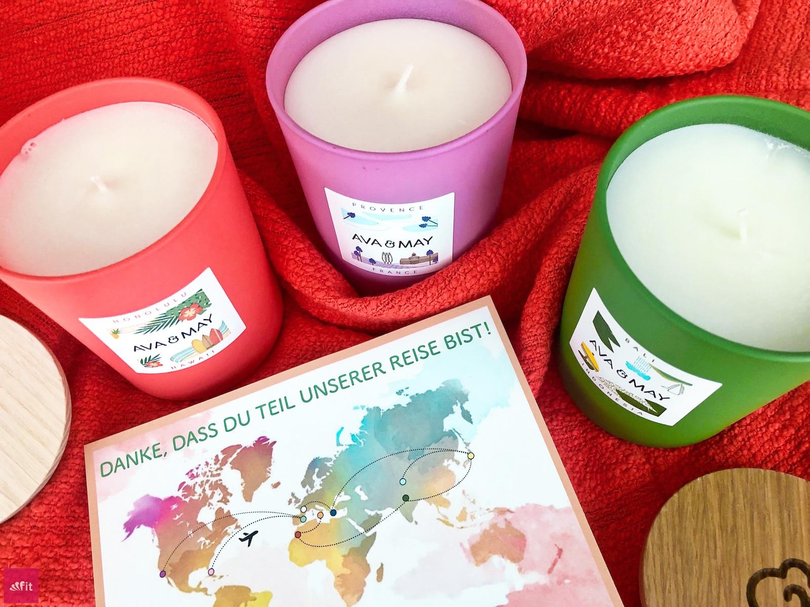 Duftkerzen AVA and MAY Kerzen Erfahrung