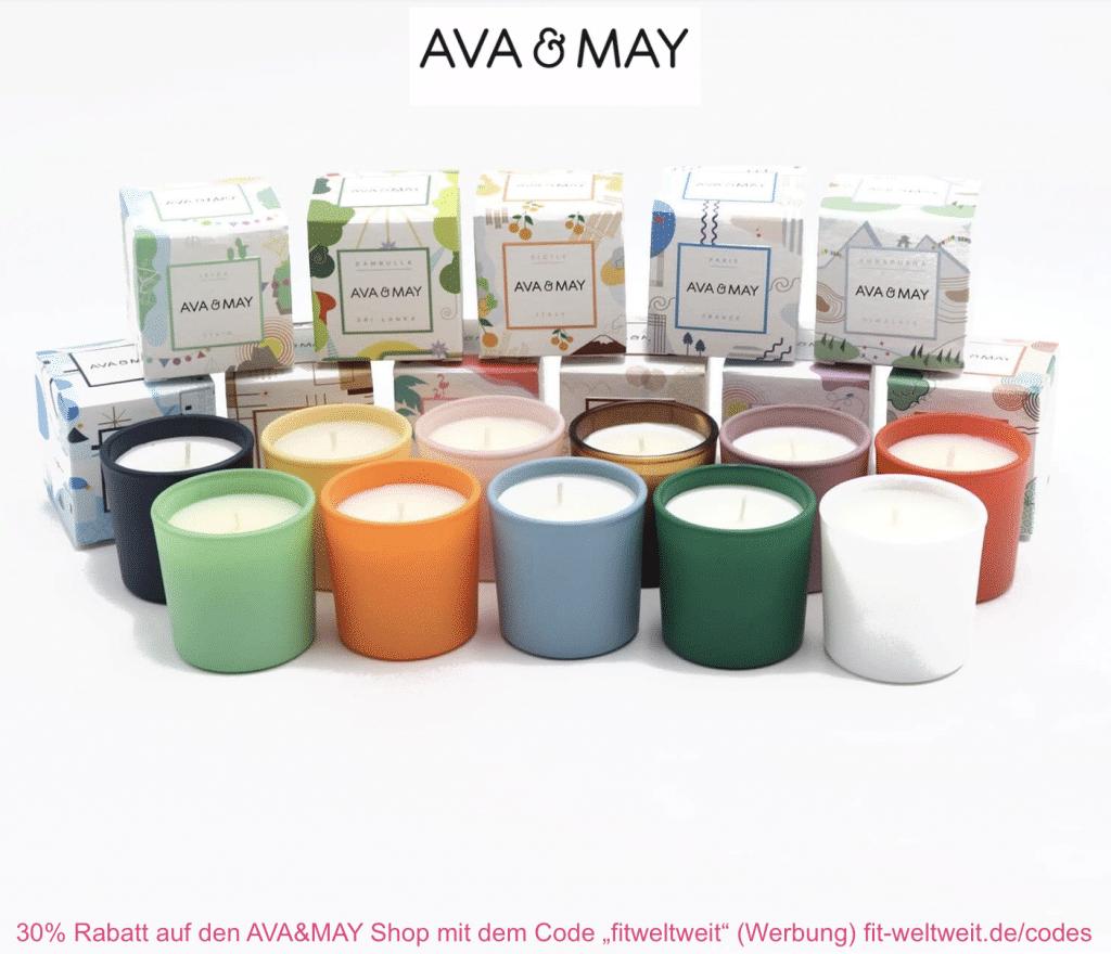 Probeset Duftkerzen AVA & MAY Mini Kerzen