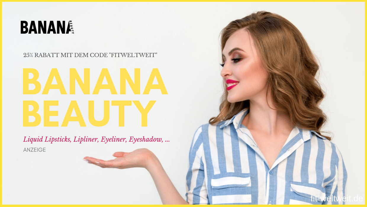 Banana Beauty Gutschein 2019 Code BananaBeauty Aktion 25% Rabatt