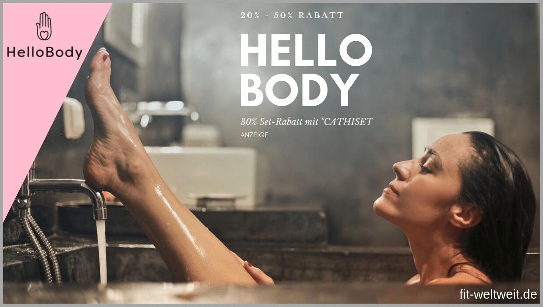Hello Body Code 50 gratis Produkte