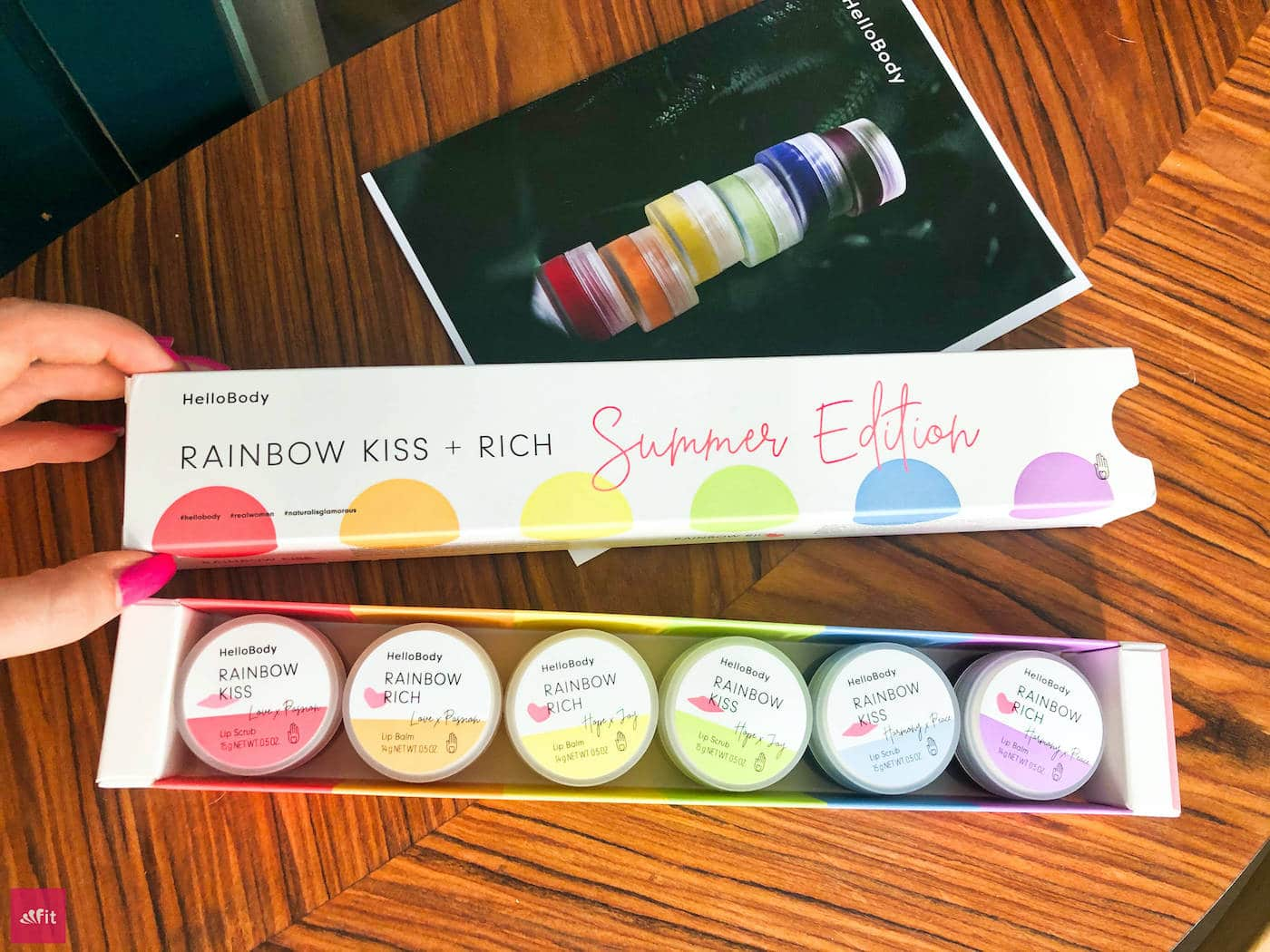 Rainbow HelloBody Kiss Rich Summer Edition