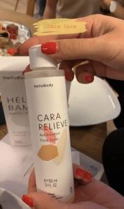 """Hello Body CARA RELIEVE Anti-Irritation Face Toner - meine Erfahrungen & Bewertung des Instagram Hypes @hellobody (Werbung) Anti-Pollution Linie - #FaceRoutine mit CARA CLEAN (Anti Pollution Reinigungsmilch), CARA CARE (schützende #Tagescreme) und HELLO BAMBOO Pads (wiederverwendbare #Kosmetik -Pads). Der Fokus der #CARA Hello Body #Produkte liegt auf sensitive und empfindliche Haut. #HelloBody 30% Rabatt mit dem Code """"CATHISET"""" auf alle Sets. #Haut #unreineHaut #Pickel #weihnachten #geschenk"""