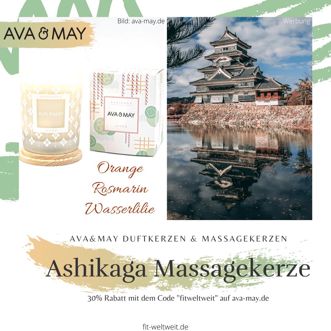 Massagekerze Ashikaga Kerze Ava May Duftkerze