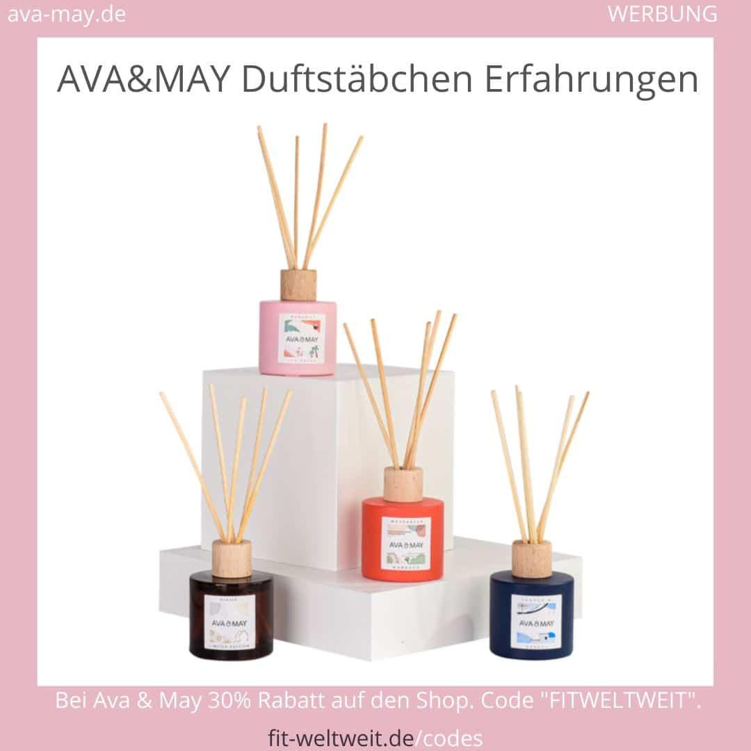 AVA & MAY DUFTSTÄBCHEN ERFAHRUNGEN Ava and May Düfte