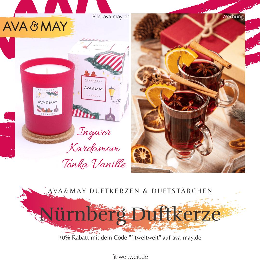 Ava May Kerze Nürnberg Duftkerze Erfahrung Germany